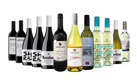 $59.95 for 12 Magnificent Red and White Mixed Case including Five-Star Wineries (Don't Pay $199)