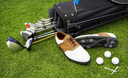 One Day of Unlimited Rounds of Golf With Cart Rental for Two  - Sunset Golf Club in Grand Prairie