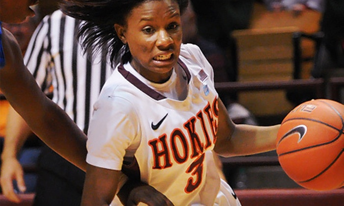 Virginia Tech Hokies - Downtown Eastside: Virginia Tech Women's Basketball Game for Two or Four at Cassell Coliseum on Saturday, December 22 (Up to 63% Off)