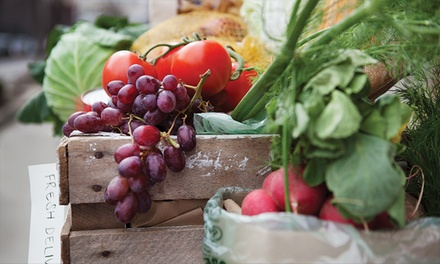 $25 for a Value Box of Organic Produce, with Delivery from Organics of Naples ($42.99 Value)