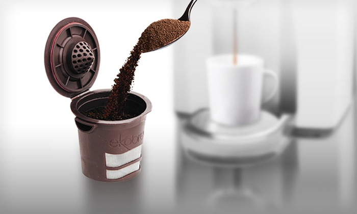 EkoBrew Single-Serving Coffee Cups: EkoBrew Coffee Filters (Up to 48% Off). Five Options Available. Free Shipping on Purchases of $15 or More. Free Returns.