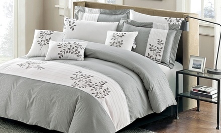 7-Piece 100% Cotton Comforter or Duvet Cover Set