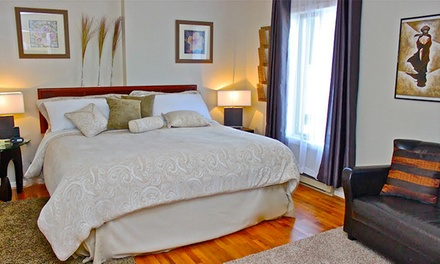 Groupon Deal: 1- or 2-Night Stay with Option of Wine, Homemade Soaps, and Snacks at Abadin Bed and Breakfast (Up to 36% Off)