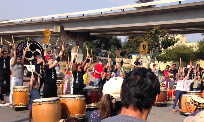 Emeryville Taiko - Multiple Locations: One, Five, or Ten Classes at Emeryville Taiko (Up to 52% Off). Three Options Available.