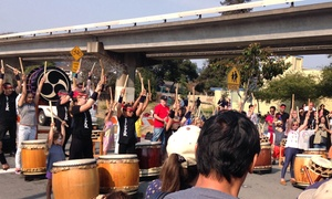Emeryville Taiko: One, Five, or Ten Classes at Emeryville Taiko (Up to 46% Off). Three Options Available.