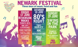 LHG Live: Tickets to Newark Festival at Riverside Park, 17 or 18 June: Child (from £11) or Adult (from £16.50) Entry
