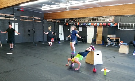 Four Weeks of Unlimited CrossFit Classes at Breacher CrossFit (65% Off)
