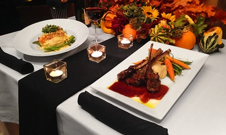 Dinner for Two, Four, or Six with Cocktails, Wine, or Draft Beer at 1515 Restaurant and Lounge (Up to 48% Off)