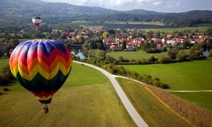 Magic Balloons: Baptême en montgolfière pour 1 personne à 129 € avec Magic Balloons