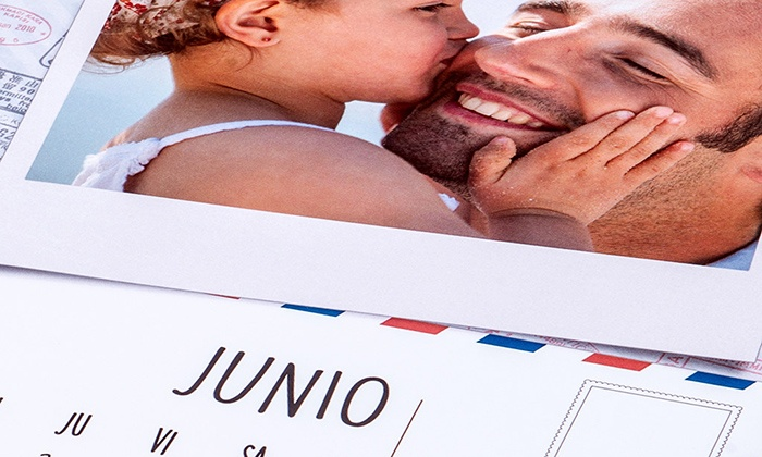 Foticos: Calendario A3 o XXL personalizzabile con Foticos(sconto fino a 60%)