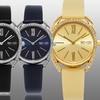 So & Co New York Women's Classy Sparkler Leather Strap Watch
