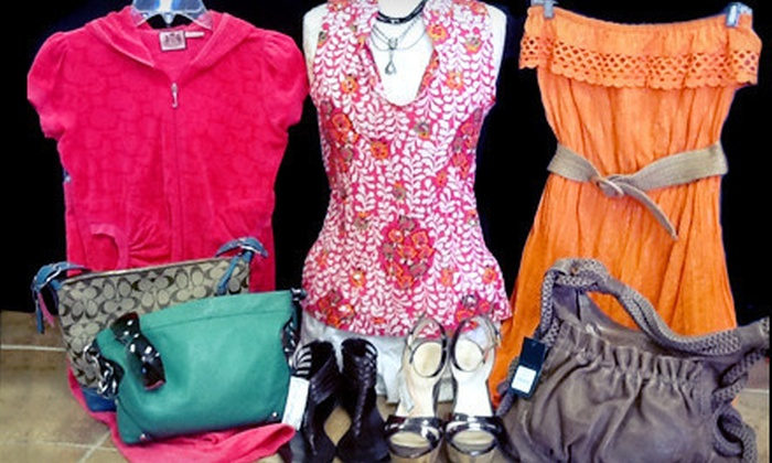 Private Collection Consignment - Madison Village: Clothing, Accessories, and Shoes at Private Collection Consignment (Half Off). Two Options Available.