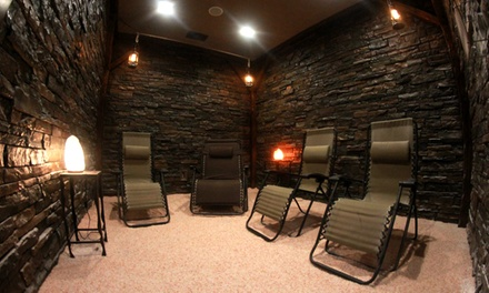 One or Three 45-Minute Sessions at The Salt Cave (Up to 55% Off)