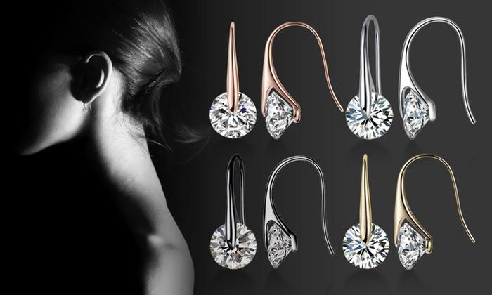 Crystal Eclipse Earrings