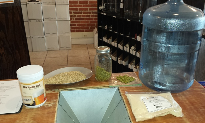 Sanford Homebrew Shop - Sanford: Up to 51% Off Home Brewing Beer Class at Sanford Homebrew Shop