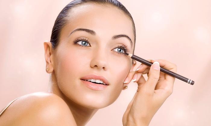 SHARA Makeup Studio - Dominique Salon: 60- or 90-Minute Private Makeup Lesson or 60-Minute Lesson for Two at Shara Makeup Studio (Up to 62% Off)