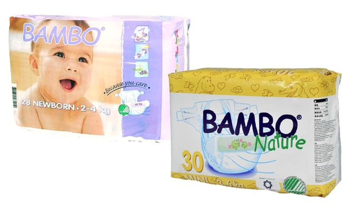 Bambo Nature Eco-Friendly Diapers and Training Pants: Bambo Nature Premium Eco-Friendly Diapers and Training Pants (Up to 21% Off). Free Shipping.