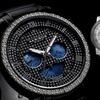 Akribos XXIV Men's Genuine Diamond Swiss Stainless Steel Watch