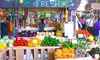 Yellow Green Farmers Market - Park East: $27 for Mimosas or Beers and Market Bucks for Two at Yellow Green Farmers Market ($38 Value)