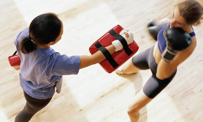 Ten Cardio Kickboxing Classes from £9 at KicX Martial Arts (Up to 93% Off)