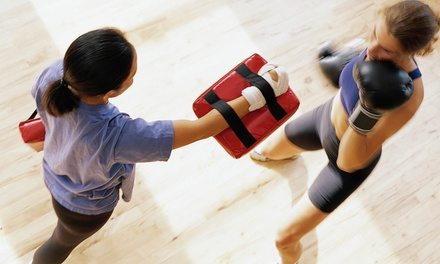 5 or 10 Womens' Kickboxing Classes at LoveYou Kickboxing Inc. (Up to 77% Off)