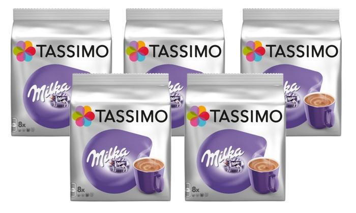 40 Servings Of Tassimo Milka Hot Chocolate
