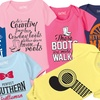 Kidteez Infant Country Themed Bodysuits