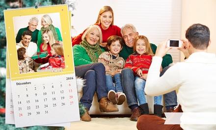 1, 2, 3 ou 5 calendriers photo XXL personnalisés avec le mois de départ de votre choix, avec eColorland dès 11,99 €