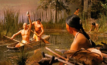 Two adult admission tickets - The Mashantucket Pequot Museum in Mashantucket
