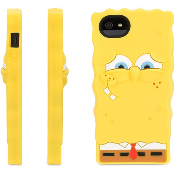 promo code 6d8c2 0189a Griffin SpongeBob SquarePants Silicone Skin for Apple iPhone 5/5s
