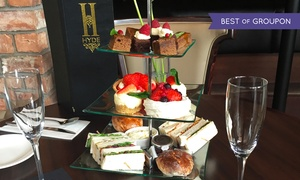 Hyde Glasgow: Afternoon Tea with Prosecco for Two or Four at Hyde Glasgow