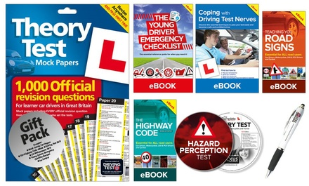 The Learner Driver Gift Pack: Theory Test Papers, Driving Test PC/DVD with Hazard Perception Test and Three eBooks