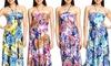 Mesmeara Flora Maxi Dress
