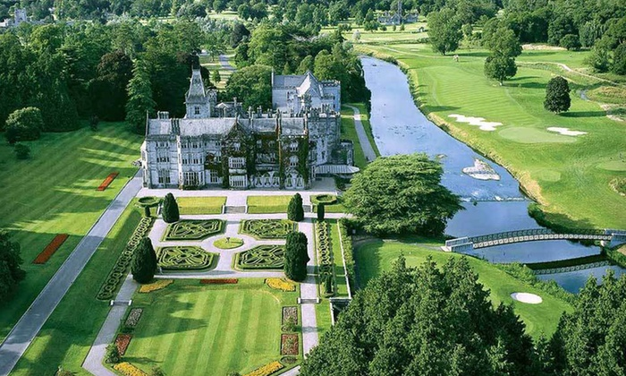 Irish Country Estate Vacation with Airfare - Limerick City Hotel or Absolute Hotel : 6-Night, Peak Season Stay at Adare Manor Villas in Ireland with Airfare and Rental Car from Sceptre Tours