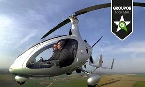"""Helicopter Fly: Foto-Rundflug über Rotenburg, Raum Bremen oder Hamburg oder """"Pilot für 1 Tag"""" mit Helicopter-Fly ab 49,90 €"""