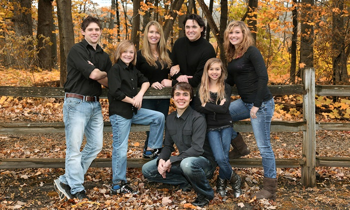 """Dale Horn Photography - Hawthorn Woods: $49 for One Outdoor Portrait Session with a 11""""x14"""" Print from Dale Horn Photography ($395 Value)"""
