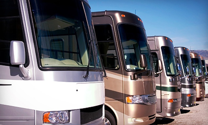 Crystal Clear Mobile RV Detail Services - Dallas: Exterior Hand Wash and Wax for RV or Boat from Crystal Clear Mobile RV Detail Services (Up to 56% Off)
