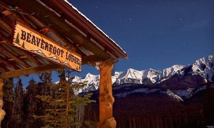 Beaverfoot Lodge - Golden: One- or Two-Night Stay or Eight-Day Film-School Package at Beaverfoot Lodge in Golden, BC