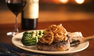 Cool River Cafe : $35 for $50 Worth of Steakhouse Cuisine at Cool River Cafe