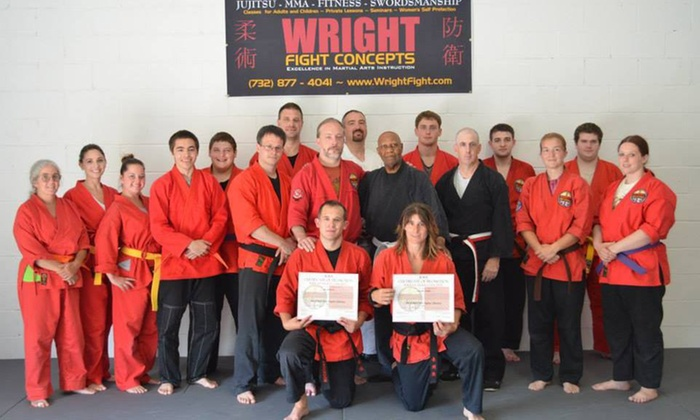 Wright Fight Concepts - New Egypt: Eight Weeks of Unlimited Martial Arts Classes at Wright Fight Concepts (55% Off)