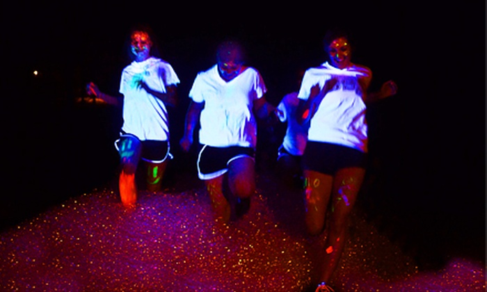 Glow in the Park Run - Southeast Montgomery: 5K Entry and T-Shirt for One or Two at Glow in the Park Run on September 14 (Up to 48% Off)