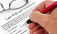 Single or Mirror Will Writing Service with Cottingham Legal Wills and Probate (Up to 85% Off)