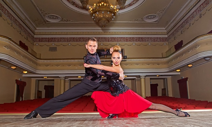Enchanted Ballroom - Enchanted Ballroom: Group Ballroom Dance Lessons Plus 1 Private Lesson at Enchanted Ballroom (84% Off)