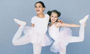 Barefoot n Motion Dance Academy: Three Kids' Dance Classes or Two Months of Weekly Kids' Dance Classes at Barefoot n Motion Dance Academy (Up to 54% Off)