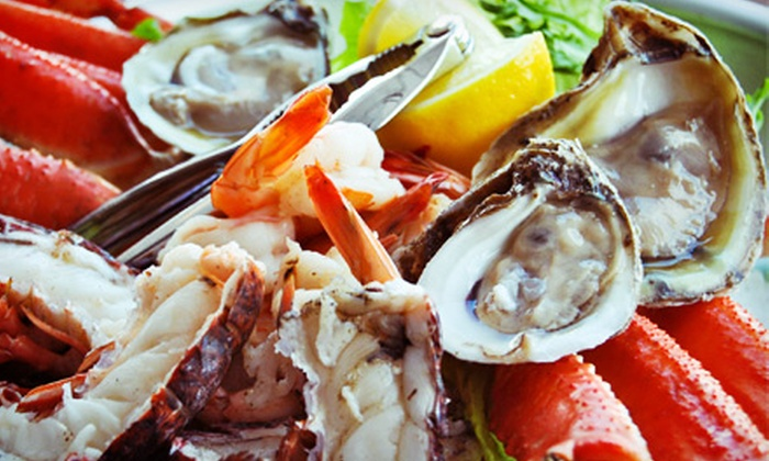 Ocean Grille - Jacksonville Beach: Seafood, Sandwiches, and Salads at Ocean Grill (Half Off). Four Options Available.