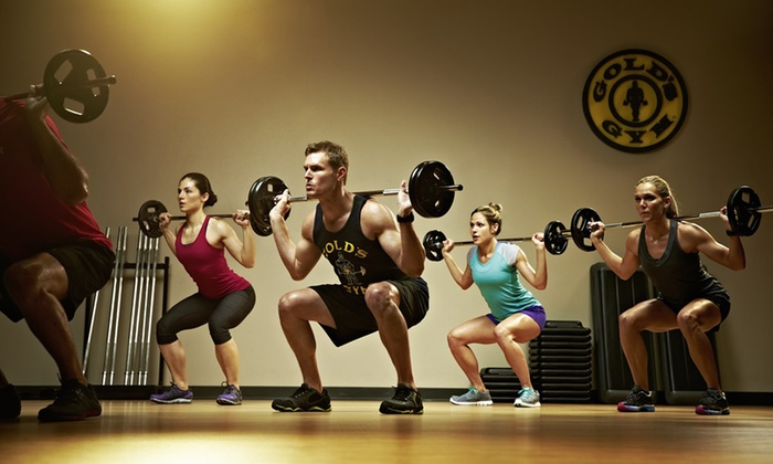 Gold's Gym - Multiple Locations: Three-Month Membership to Gold's Gym (Up to 69% Off)