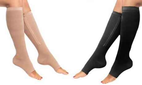 1, 2 o 4 pares de calcetines de compresión