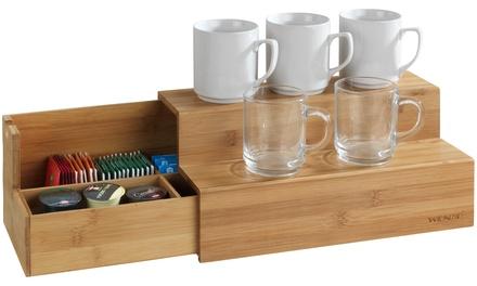 Scaletta in bambù per caffè e tè Wenko