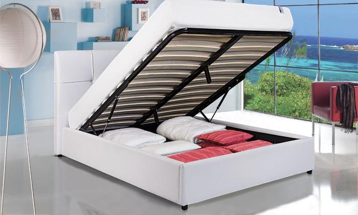 lit coffre grace par sampur groupon shopping. Black Bedroom Furniture Sets. Home Design Ideas