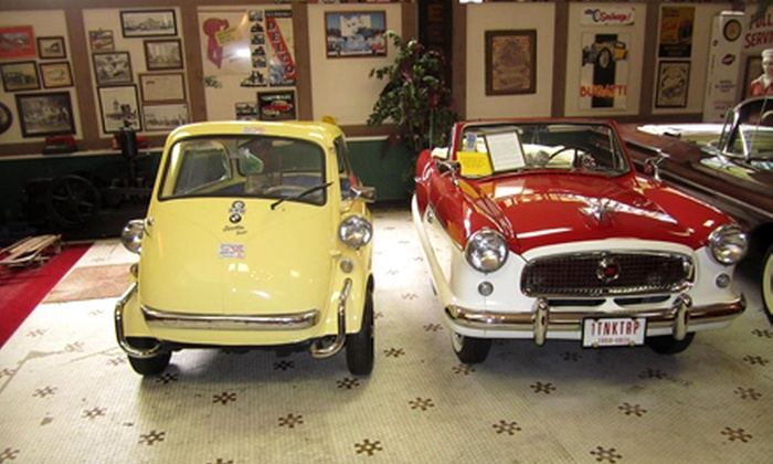 Canton Classic Car Museum - Canton: $15 for a Canton Classic Car Museum Visit for Four (Up to $30 Value)